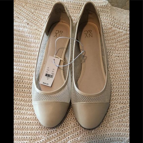8f84e7fc7 New York & Company Shoes | Cream Colored Ballet Flats | Poshmark
